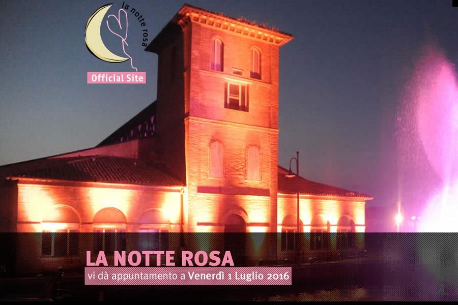 Venerdi' 1 luglio Notte Rosa 2016 a Riccione Ristorante Zi Rosa